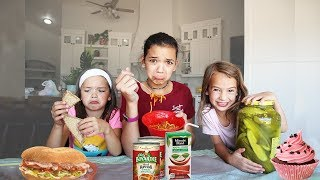 6 KIDS swap DIETS for 24 hours!