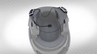 How to install the Cardo SHO-1 on a helmet