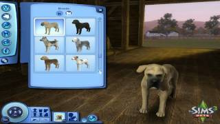 Sims 3: Pets - Create a Pet Demo (Part 1)