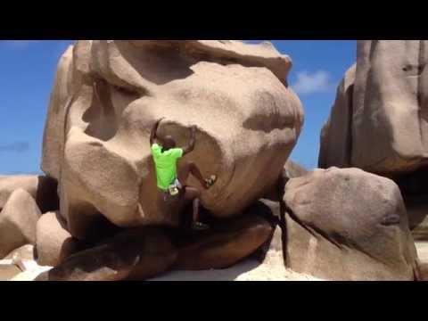 Seychelles La Digue Bouldering  2015 - Sunny Trail Guide