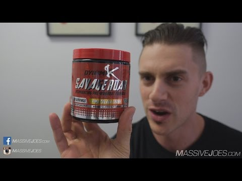 Kai Greene DynamiK Muscle Savage Roar Pre-Workout Supplement Review MassiveJoes.com