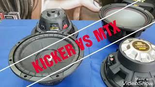 Subwoofer Kicker Comps vs Mtx THL