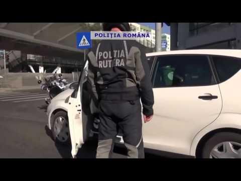 "Politia Rutiera din Bucuresti in actiune (masina civila ""sub acoperire"" + motocicleta) - Ep. III"