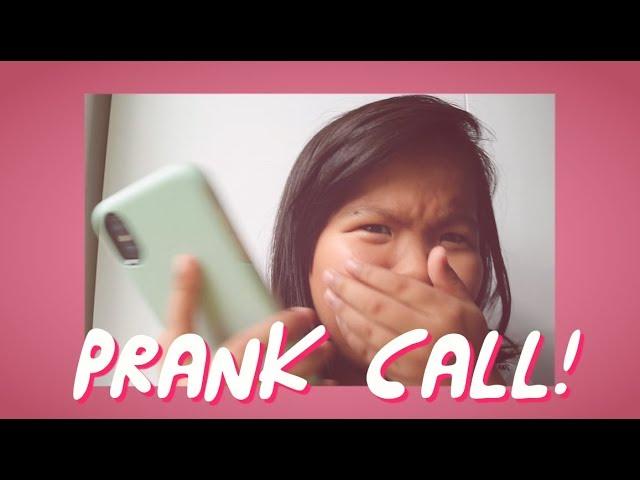 PRANK CALL!! (disiziiit!!)