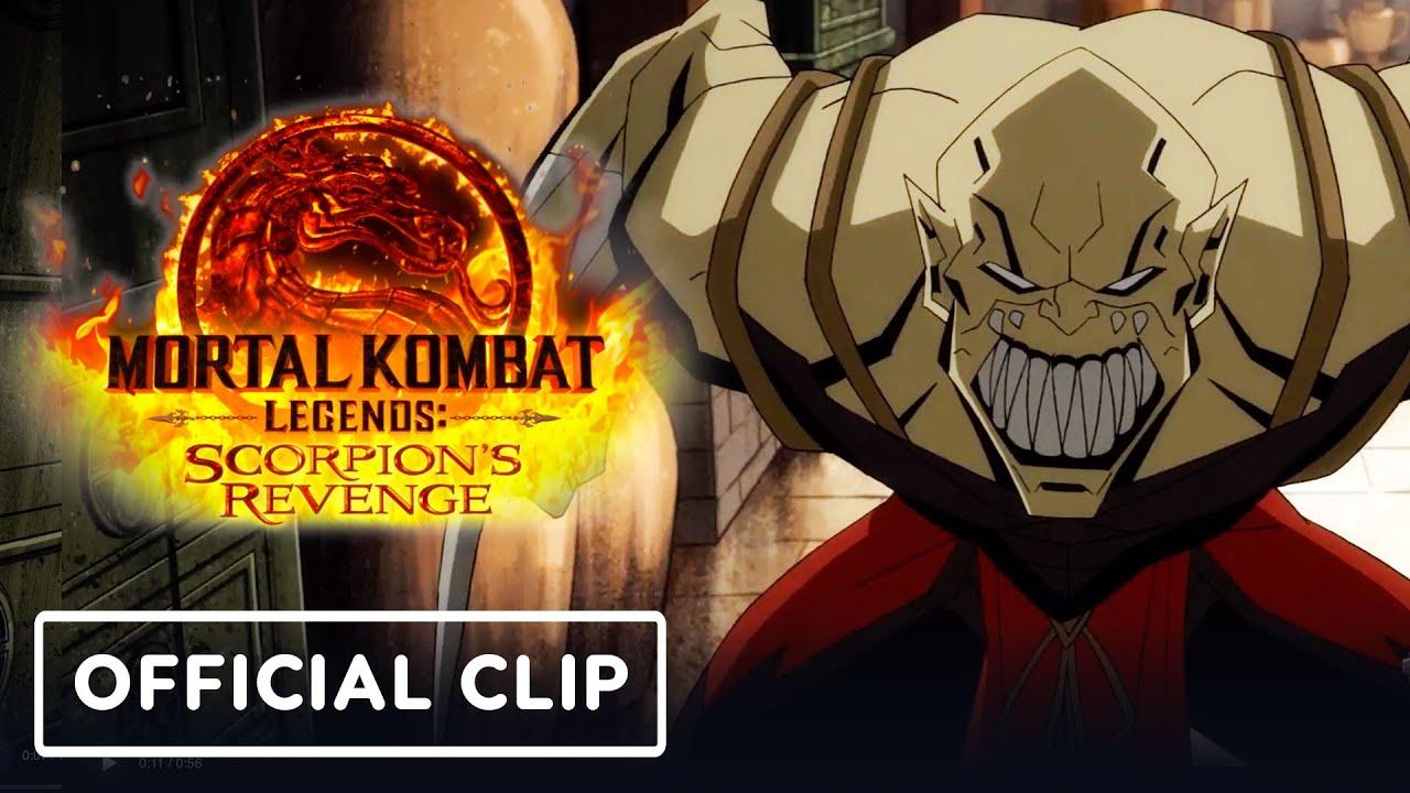 It S Johnny Cage Vs Baraka In This New Mortal Kombat Legends