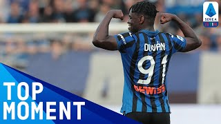 Duvan zapata scored his 6th goal of the season to put atalanta ahead against lecce | serie athis is official channel for a, providing all l...