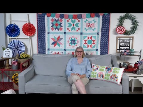 Behind The Seams: Latest Blocks From The Bee Patriotic Sew Along, Table Runners, Flags And More!