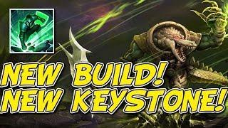 NEW BUILD + KEYSTONE! - PRESEASON 7 RENEKTON TOP GAMEPLAY!
