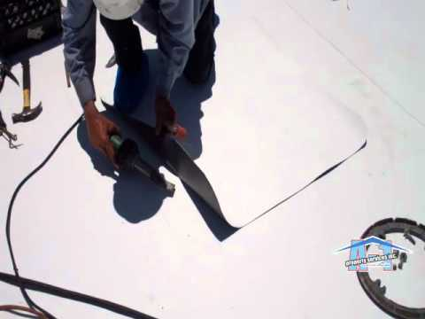 Tpo Roofing Drain 101 Gaf Miami Fl Youtube