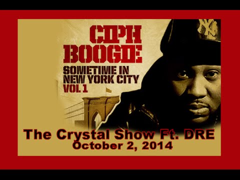 CIPH BOOGIE INTERVIEW 2014: The Crystal Show October 2, 2014