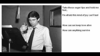 GENE PITNEY -Town Without Pity - With SING ALONG Lyrics