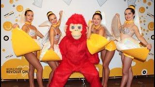 Шоу балет на новый год! Танец с красной обезьяной - символом 2016 года!