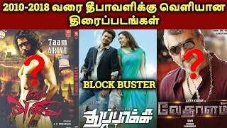 2010 To 2019 Diwali Release Tamil Movies Hit? Or Flop? | தமிழ்