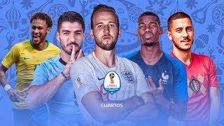 FIFA 18 | ¡SIMULACIÓN CUARTOS de FINAL del MUNDIAL! + SORTEO PS4