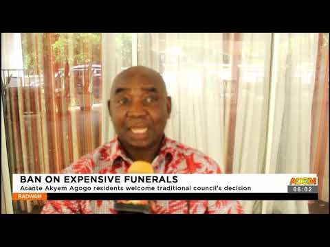 Asante Akyem Agogo residents welcome traditional councils decision- Badwam News on Adom TV (17-9-21)