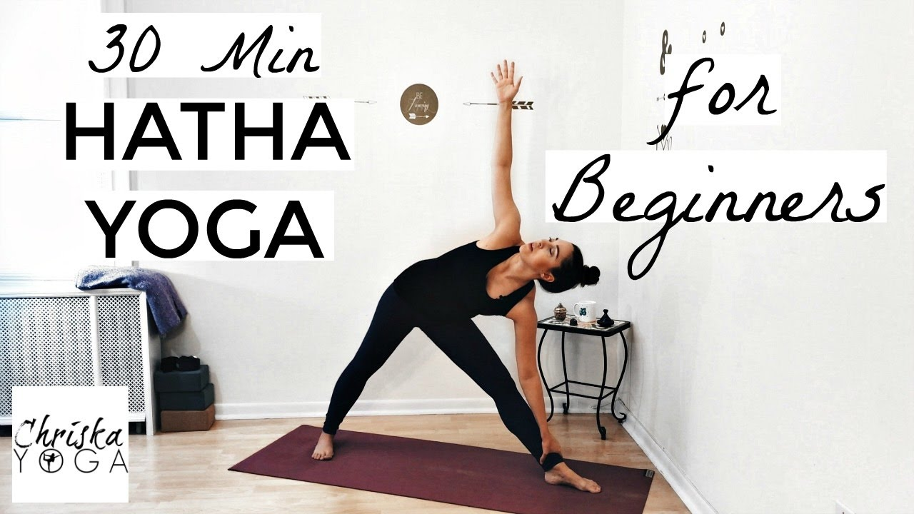 30 Min Hatha Yoga For Beginners
