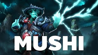 [Dota2] Mushi Pro Plays Heroes Storm Spirit Mid Guide Ranked MMR [ Mushi Gameplay ]