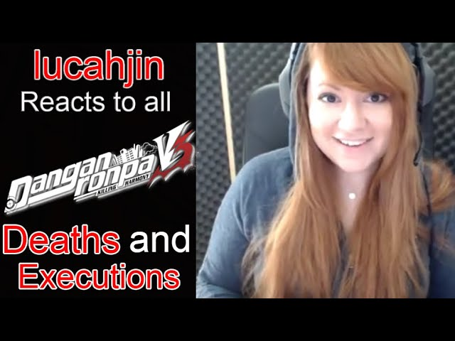 Lucahjin Reacts To All Danganronpa V3 Killing Harmony Deaths And Executions Youtube Lucahjin is going to host an all day charity stream in tribute of her uncle, who passed away recently (my condolences d due to an advanced heart attack. lucahjin reacts to all danganronpa v3