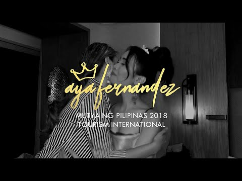Mutya ng Pilipinas 2018 Tourism International Aya Fernandez x Yna Mendez Couture