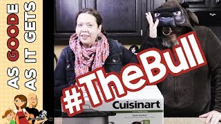 Unboxing the Cuisinart Multicooker! (Why Is Mikey Wearing a Bull Costume???)