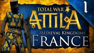 MEDIEVAL KINGDOMS TOTAL WAR ATTILA FRANCE CAMPAIGN EP. 1