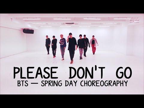 [Edit] Please Don't Go ─ BTS 'Spring Day' Choreography