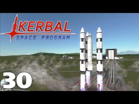 Road To Colonisation #30 - Jool Fuel - Kerbal Space Program