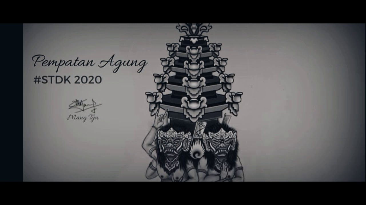 Sketsa Ogoh Ogoh Tahun 2020
