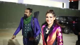 FDVM x AYESHA OMAR at Solis music and Arts festival 2019 in Karachi.