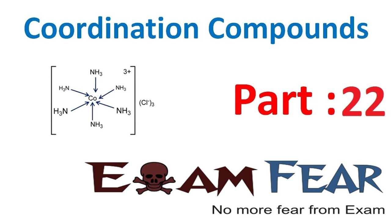 Chemistry Coordination Compounds part 22 (Stability of coordination  compounds) CBSE class 12 XII