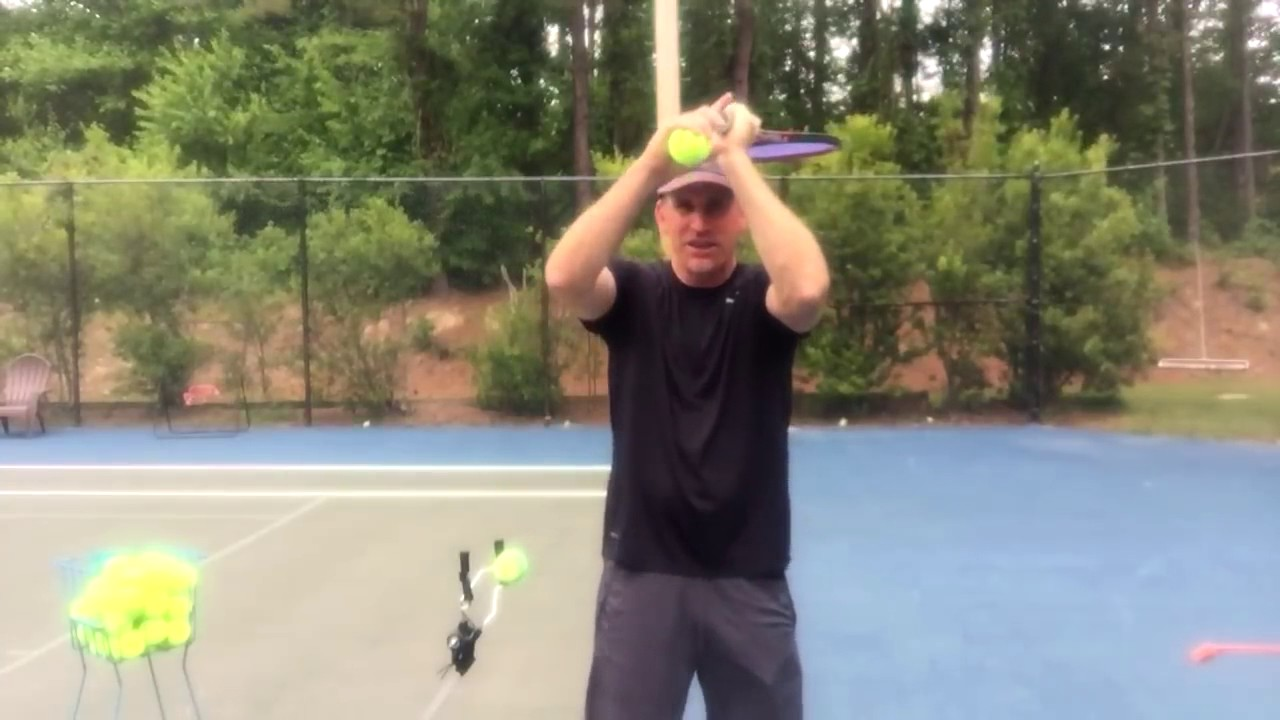 How to hit topspin with no loss of power | feel tennis.
