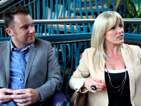 Eurovision Ireland Una Gibney & David Shannon Interview Part 2 of 3 - 20 Feb 2012