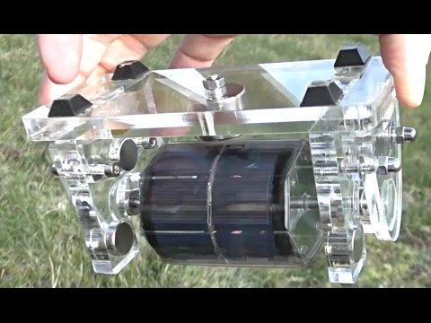 Free Energy Magnet Motor ( free electricity, no water energy, no wind ...