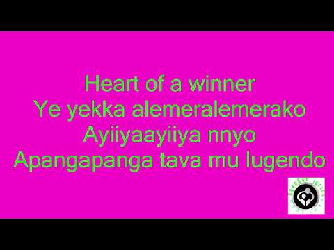 heart of a winner lyrics