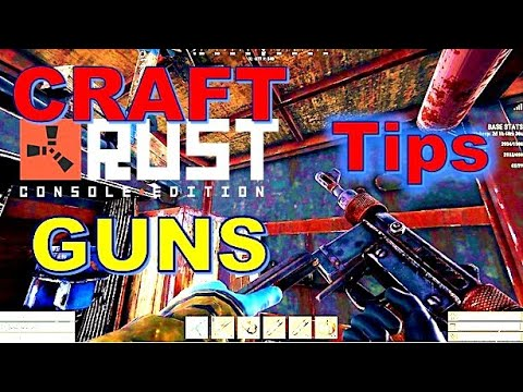Rust Console Crafting Guns TIPS // This Costly Mistake!!
