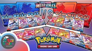 Bạn sẽ chọn Đấm Một Phát hay Đấm Nhiều Phát ở series Pokemon TCG Battle Styles mới ToyStation 578