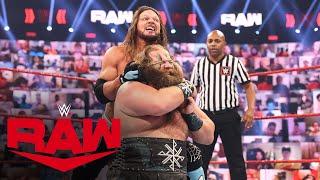Ivar vs. AJ Styles: Raw, July 12, 2021