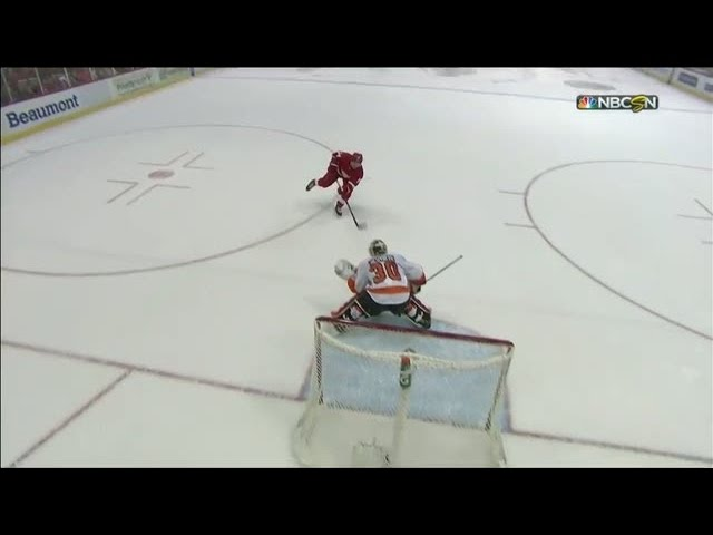 Shootout: Flyers vs Red Wings