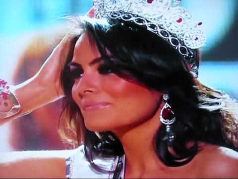 miss universe 2010 crowning moment youtube