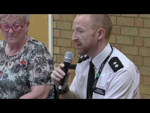 Fen Road - Chesterton Crime Meeting - May 2018