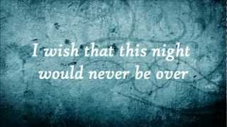 Never Close Our Eyes - Adam Lambert (Lyrics)