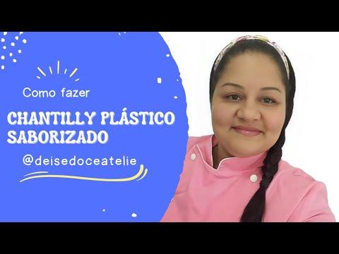 Chantilly Plástico Saborizado
