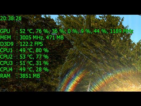 ...температуры процессоров. CPU temperature monitoring...