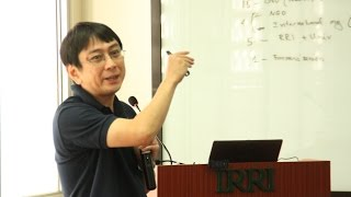 Dr. Kei Kajisa - Changes in rice farming profitability over five decades in Central Luzon