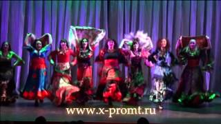Цыганский танец в Школе танцев