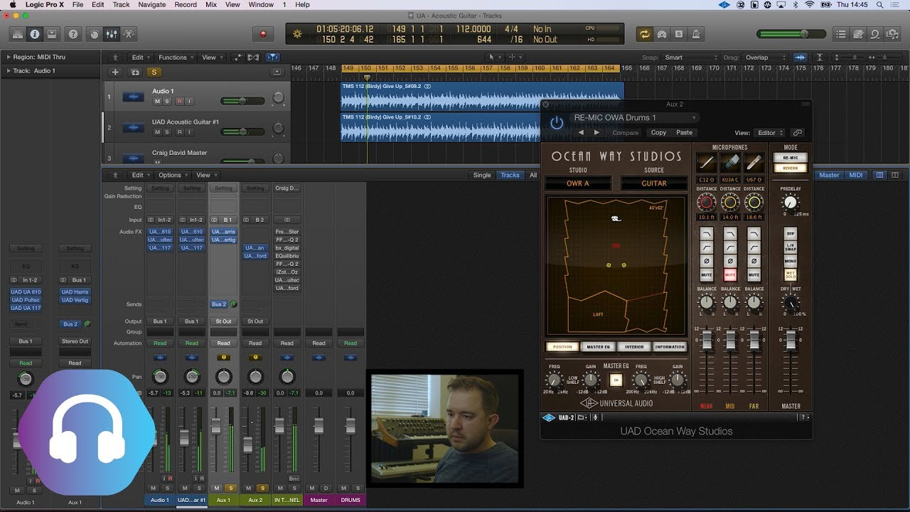 TMS : Get that Pop Music Acoustic Guitar Sound With UAD Plugins