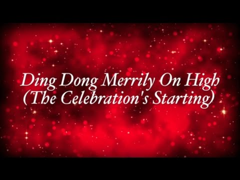 Rend Collective - Ding Dong Merrily On High (The Celebration's Starting) (Lyrics)