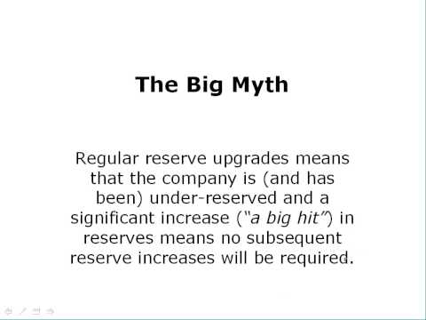 WC California, Reserve Upgrade Myths and Case Reserve Estimates (CRE) versus Paid Losses