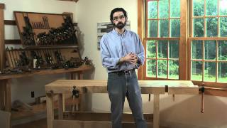 The New Lie-Nielsen Workbench with Christopher Schwarz