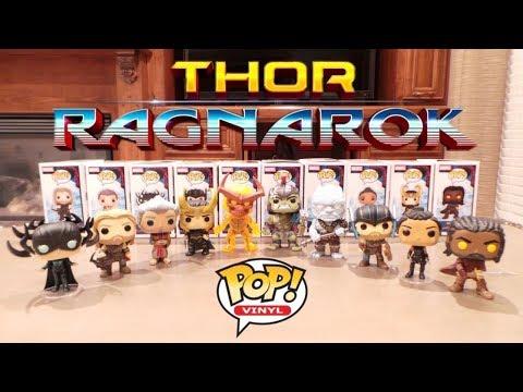 Thor Ragnarok Funko POPS! pops